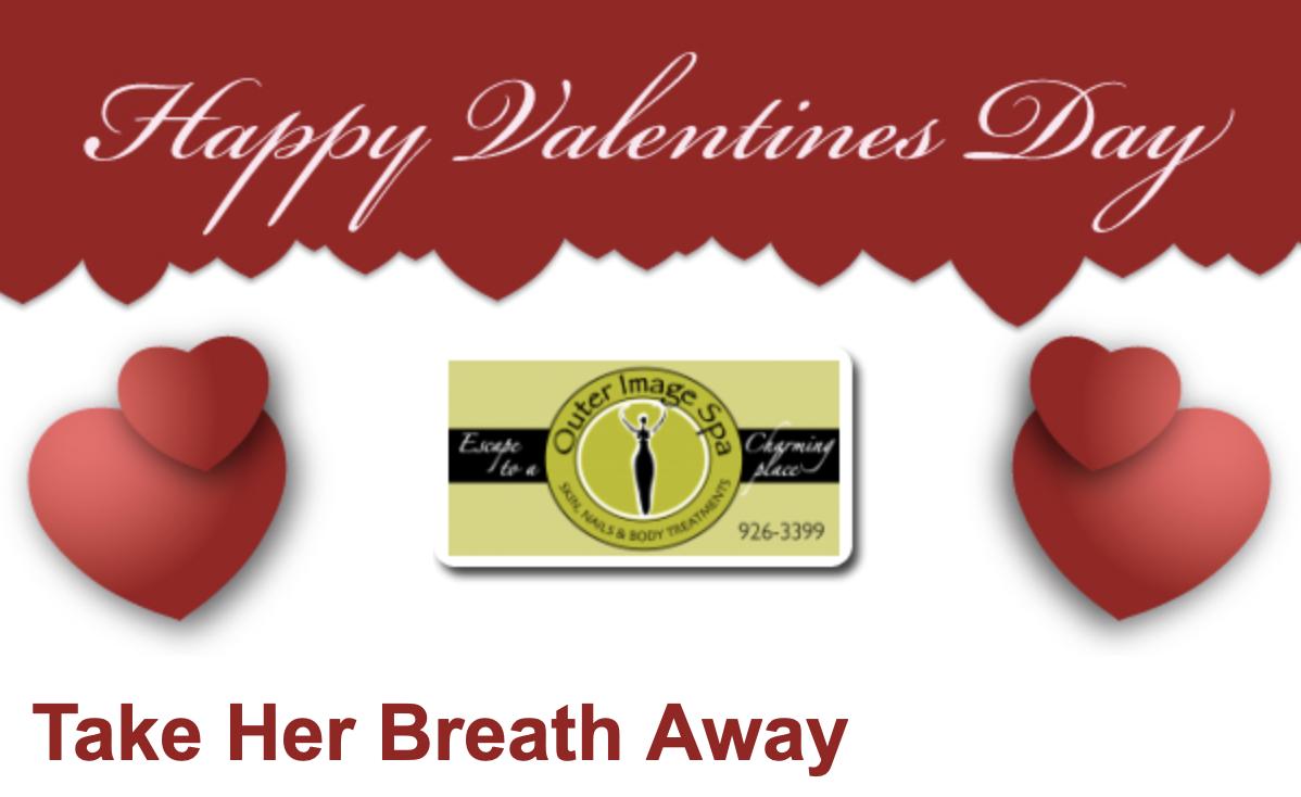 Valentines Day - Take Her Breath Away