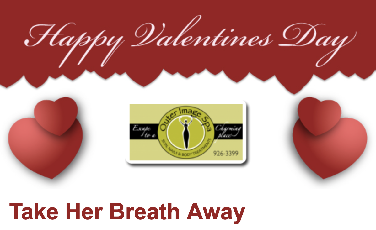 Valentines Day Package Specials